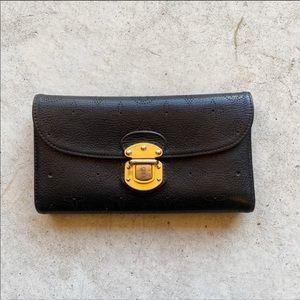 ▪️Louis Vuitton▪️Amelia Leather Trifold Wallet